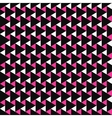Color mosaic pattern - seamless background vector image vector image