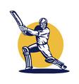 cricket symbol vector image vector image