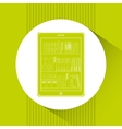 electronic book design vector image