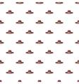 Gentleman hat pattern cartoon style vector image vector image