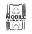 mobile repair service 3 vector image