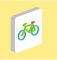 mountain bike computer symbol vector image