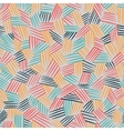 seamless pattern with interweaving of lines vector image