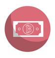 sticker digital bitcoin bill and electronic