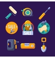 Tools for Building and Repair Sale vector image vector image