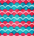 abstract circle seamless pattern vector image vector image
