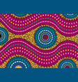 african wax print fabric ethnic handmade motifs vector image vector image