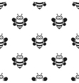 Bee black icon for web and mobile vector image vector image