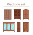 furniture cartoon vector image vector image