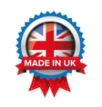 Made in UK badge vector image