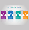 modern infographic design template banners vector image vector image