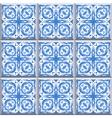 retro floor tiles pattern vector image vector image