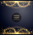 sparkling light effect glitter style background vector image vector image