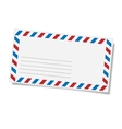 Blank mailing envelope vector image