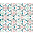 colorful seamless pattern in boho style vector image vector image
