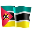 flag of Mozambique vector image vector image