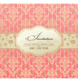 Tion vintage label vector frame pink vector | Price: 1 Credit (USD $1)