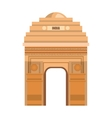 monument gate delhi india country design vector image vector image