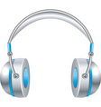 music headphones vector image vector image