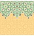 seamless border pattern oriental ornament vector image vector image