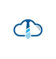 sky job logo icon design vector image
