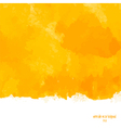 yellow watercolor background vector image vector image
