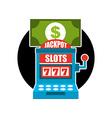 casino game design vector image vector image