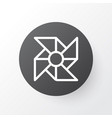 computer cooler icon symbol premium quality vector image vector image