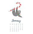 december 2019 year calendar page vector image