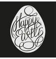 Easter Lettering vector image vector image