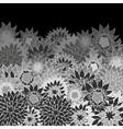 floral back vector image vector image