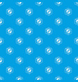 retro music pattern seamless blue vector image