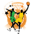 basketball club vector image vector image