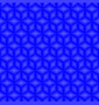 blue cubes pattern seamless background vector image