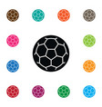isolated football icon ball element can be vector image vector image