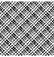 seamless pattern with brush stripes plaid vector image vector image