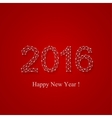 Text design Happy new year 2016 vector image vector image