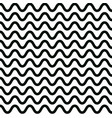 wave pattern design graphic wavy lines vector image vector image