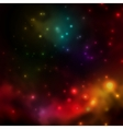 Abstract background is a space with stars vector image vector image