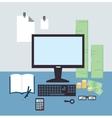 bank employee vector image vector image