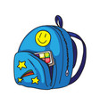 child backpack vector image