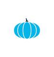 pumpkin icon colored symbol premium quality vector image