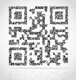 qr code 02 vector image vector image