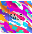 abstract background with multicolored shape vector image vector image