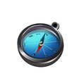 big compass icon vector image vector image