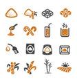 cane icon vector image vector image