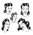 Figures Women vector image vector image