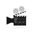 film camera roll black vector image vector image