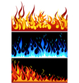 Fire backgr set vector | Price: 1 Credit (USD $1)