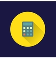 Flat calculator icon vector image vector image